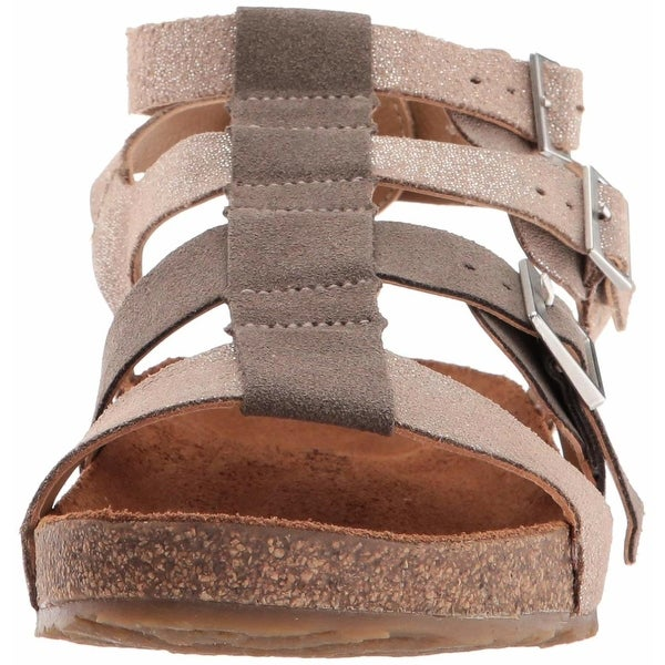 Haflinger Womens Mana Open Toe Casual Strappy Sandals