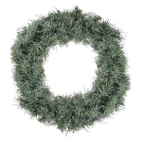 "12"" Mini Canadian Pine Artificial Christmas Wreath - Unlit - green"