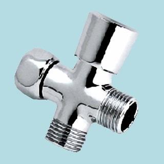 Shower Arm Diverter Chrome Valve Push / Pull