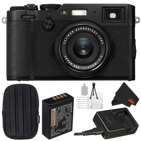 Fujifilm X100F Digital Camera Bundle (Intl Model)
