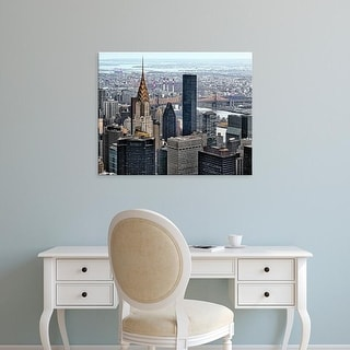 Easy Art Prints Colby Chester's 'Chrysler & Queens' Premium Canvas Art