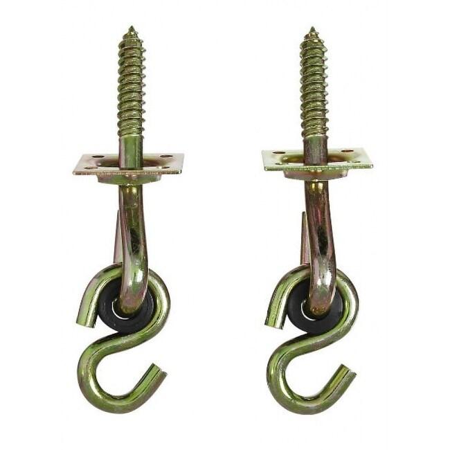 National Hardware N264-069 Lag Screw Swing Hook Kit, 2-Pack