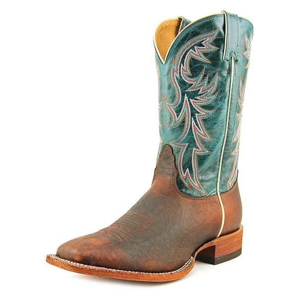 Nocona MD2749 Men Square Toe Leather Brown Western Boot