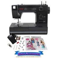 Janome HD1000 Black Edition Sewing Machine with Bonus Accessories