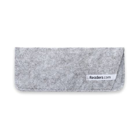 Readers.com The Felt Reading Glasses Pouch Reading Glasses
