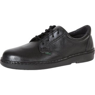 Rocky Work Shoes Womens Flat Sole Oxford SR USA Postal Black FQ0911201