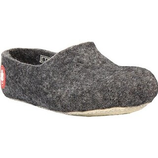 Baabuk Jeremy Slipper Dark Grey