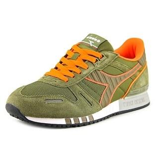 Diadora Titan II Men Round Toe Synthetic Green Sneakers