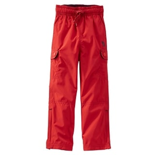 OshKosh BGosh Baby Boys Jersey-Lined Heritage Active Pants 6 Months Gray