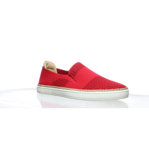 UGG Womens Sammy Vibrant Coral Casual Flats Size 6.5