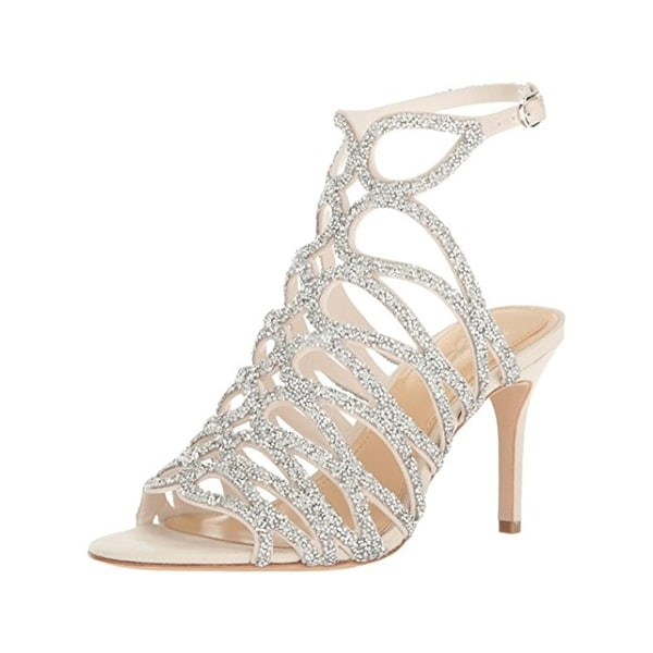 Imagine Vince Camuto Womens Plash Evening Heels Embellished Open Toe