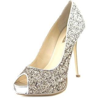Guess Honoran Open Toe Synthetic Platform Heel