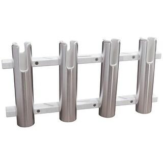 TACO Metals Aluminum Poly 4-Rod Rack Holder F31-3104BXZ-1 4-Rod Rack Holder