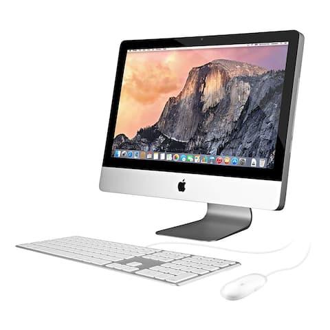 Apple MC978LL/A Intel Core i3-2100 - 3.1GHz, 4GB, 250GB 21.5in Screen,Silver (Refurbished) - silver