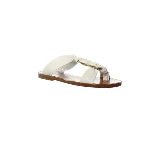 Clergerie Womens Siena White Sandals Size 6