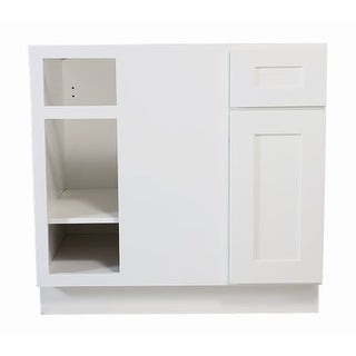 "Design House 561522 Brookings 36"" Single Door Blind Base Cabinet with Drawer"
