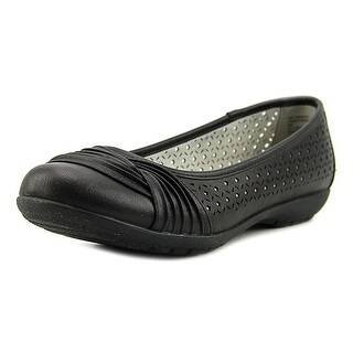 White Mountain Womens Sarlow Closed Toe Slide Flats