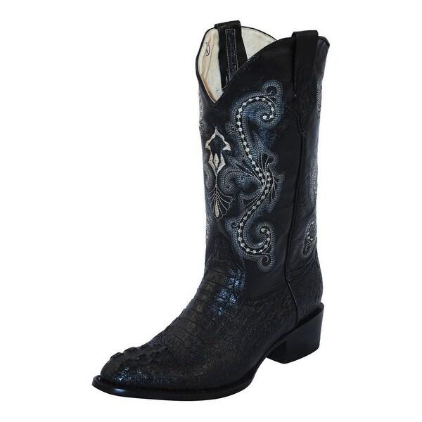 Shop Ferrini Western Boots Mens Cowboy Caiman Croc Print