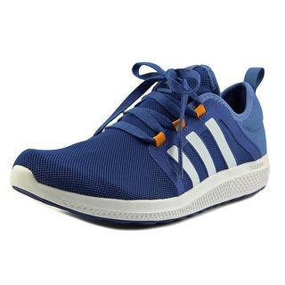 Adidas fresh bounce m Men Round Toe Synthetic Blue Tennis Shoe