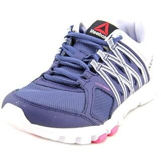 Reebok yourflex trainette Women Round Toe Synthetic Blue Sneakers