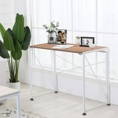 NOVA FURNITURE Folding Home Office Industrial Computer Desk