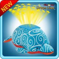 My Pillow Pets Dream Lite Nightlight Swirly Dolphin - multi