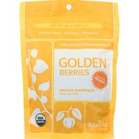 Navitas Naturals Goldenberries - Organic - 8 oz - case of 12