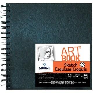 Canson Artbook Artist Series C100510426 6 X 6 Wirebound Sketchbook