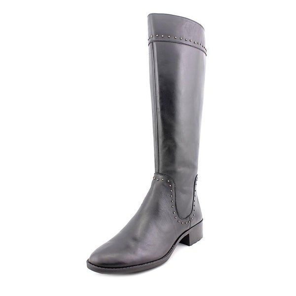 Circa Joan & David Talaro Round Toe Leather Knee High Boot
