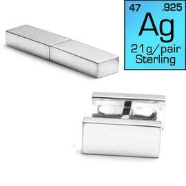 Engravable Flip Bar Cufflinks