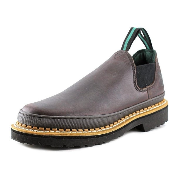Georgia Boot Romeo Giant Men Round Toe Leather Work Shoe