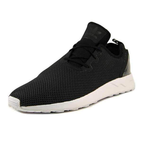 new concept a5325 a39ba Shop Adidas Zx Flux Men Round Toe Synthetic Black Sneakers ...