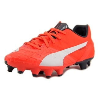 Puma MB 9 FG Jr Youth Round Toe Synthetic Cleats