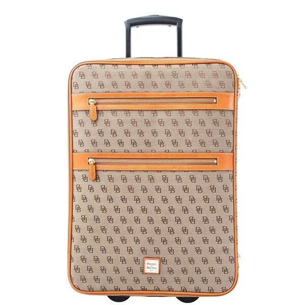 Dooney & Bourke Signature Rolling Suitcase (Introduced by Dooney & Bourke at $695 in Oct 2013) - Brown