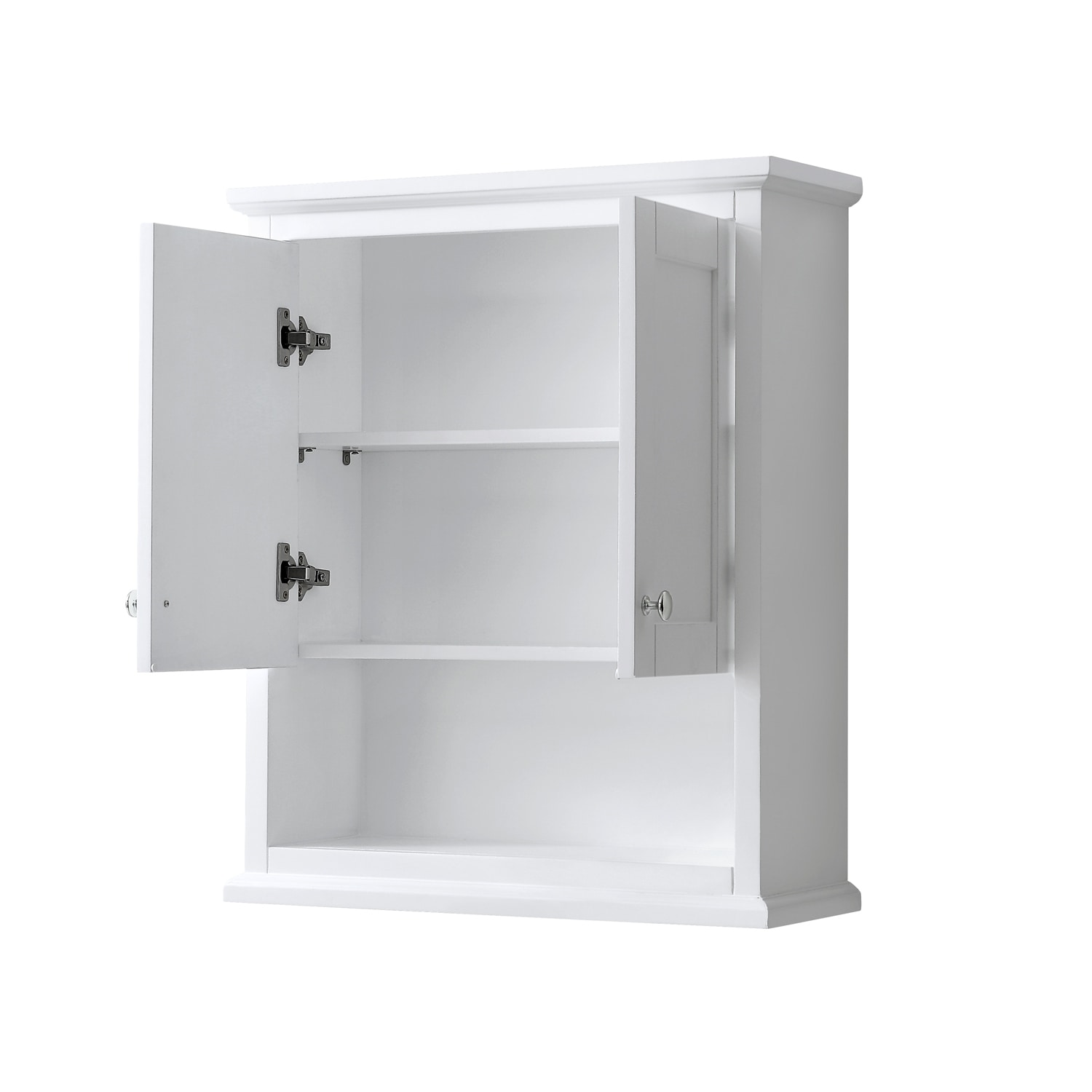 Avery Wall Mounted Bathroom Storage Cabinet Overstock 28870352 White