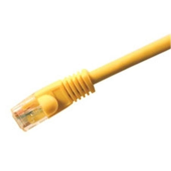 Comprehensive Cat5e 350 Mhz Snagless Patch Cable 3ft Yellow