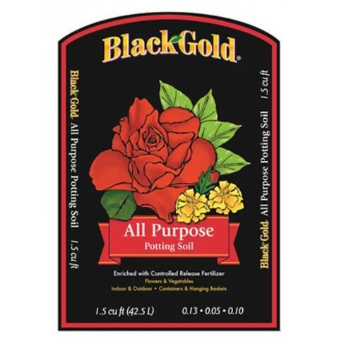 Black Gold All Purpose Potting Soil, 1.5 cu.ft.