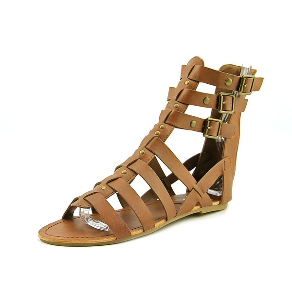 143 Girl Jordyn   Open Toe Synthetic  Gladiator Sandal