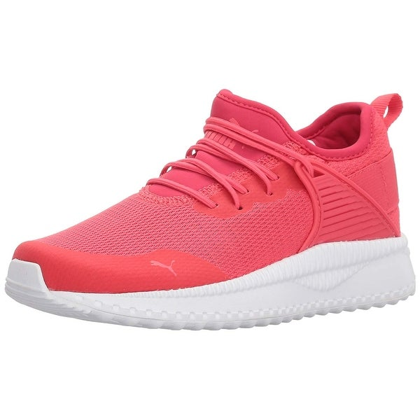 91b4d68a7a8323 Kids PUMA Girls pacer next cage Low Top Lace Up Walking Shoes - 1.5 m us