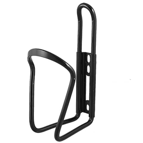 Aluminum Alloy Portable Bicycle Bike Water Bottle Holder Cage Black