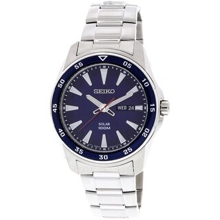 Seiko Core Silver Stainless-Steel Plated Japanese Quartz Diving Watch