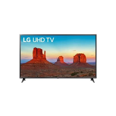 """LG Electronics49UK6090PUA-A4k49""""Smart LED TV, Black(Certified Refurbished) - Black - 43.7 x 25.6 x 3.2 Inches (Without Stand)"""