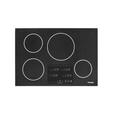 """Thor Kitchen TEC3001I-C1 30"""" Wide 4 Burner Induction Cooktop with Control Lockout"""