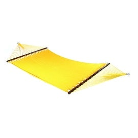 Sunnydaze Large 2-Person Rope Hammock with Spreader Bar & Hammock Stand