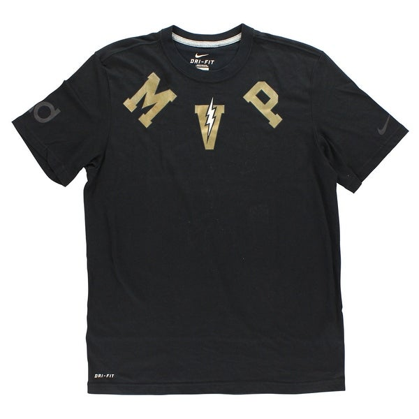0e4ba25b05 Shop Nike Mens Kevin Durant Dri Fit MVP T Shirt Black - Free Shipping On  Orders Over  45 - Overstock - 22615663