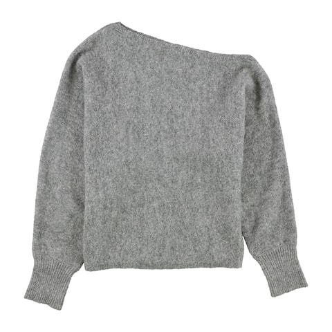 GUESS Womens Catrina Knit Sweater, Grey, Small