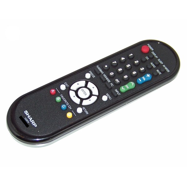 NEW OEM Sharp Remote Control Originally Shipped With LC40D68, LC-40D68