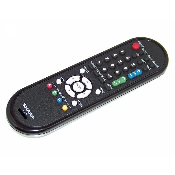 OEM Sharp Remote Control Originally Shipped With: LC32D47UT, LC32D49U, LC32M44L, LC32M44U, LC-32A47L, LC-32D44U