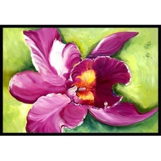 Carolines Treasures JMK1120JMAT Orchid Indoor & Outdoor Mat 24 x 36 in.