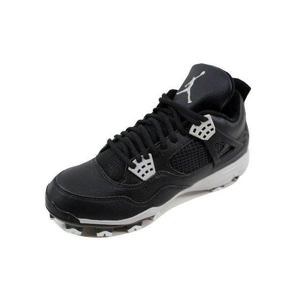 best service 9fcb2 a799a Nike Men  x27 s Air Jordan IV 4 Retro MCS Black Tech Grey